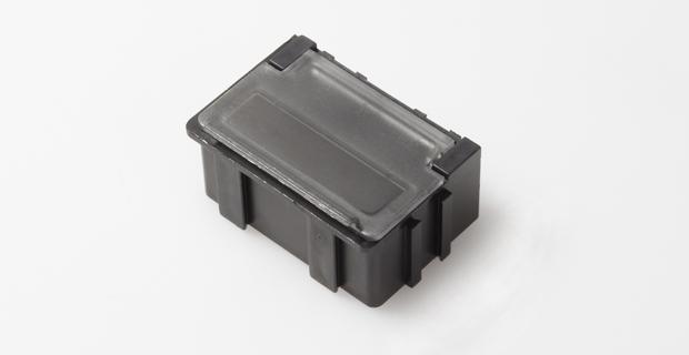 smd klappbox mit transparentem deckel 37mm x 12mm x 15mm. Black Bedroom Furniture Sets. Home Design Ideas