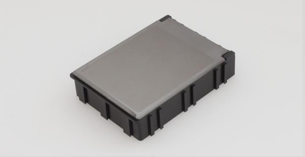 smd klappbox mit transparentem deckel 68mm x 57mm x 15mm. Black Bedroom Furniture Sets. Home Design Ideas